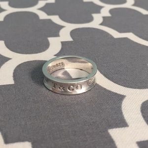 Tiffany & Co. 1837 ring, 925 sterling silver